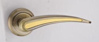 Ручка «САБРИНА» DH 204-04 АВ/SG (бронза античная/латунь матовая)