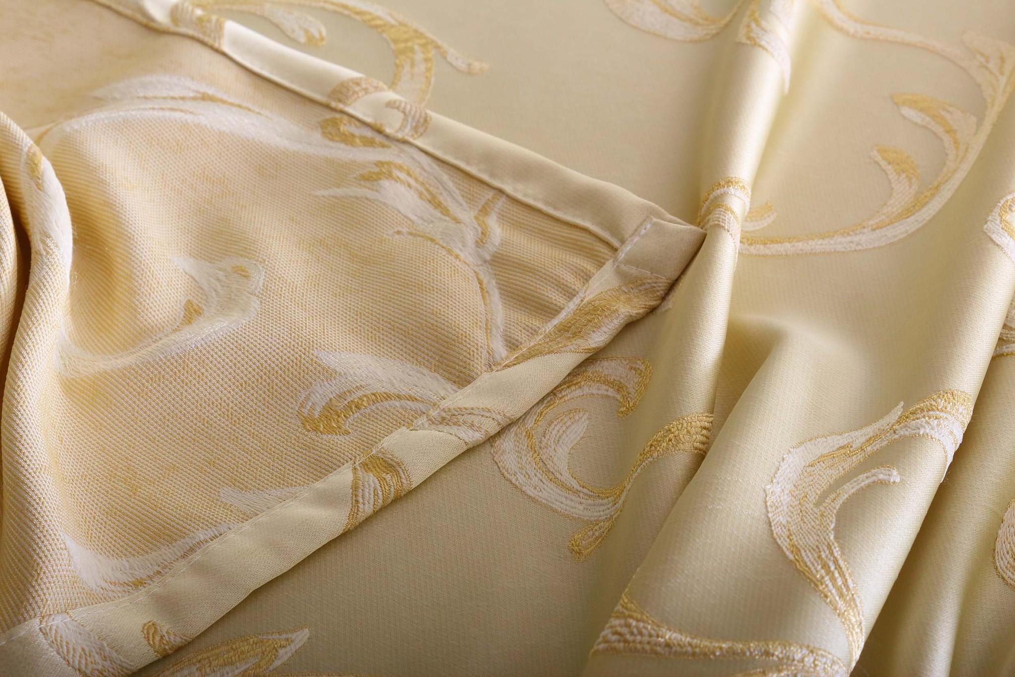 Готовая штора Sarah (кремовый)