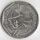K6177, 1993, Франция, 2 франка Жан Мулин