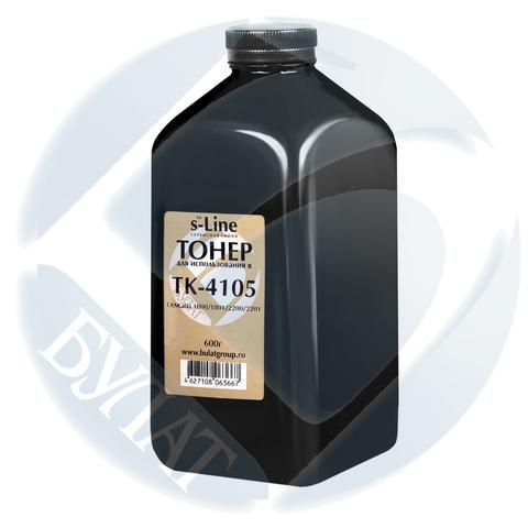 Тонер Kyocera TASKalfa 1800 банка 600г TK-4105 БУЛАТ s-Line