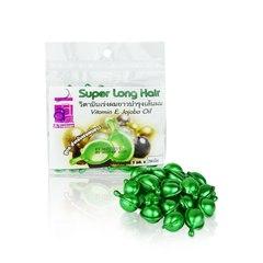 сыворотка для волос в капсулах для роста и укрепления Super Long Hair, Genive, 50 шт.