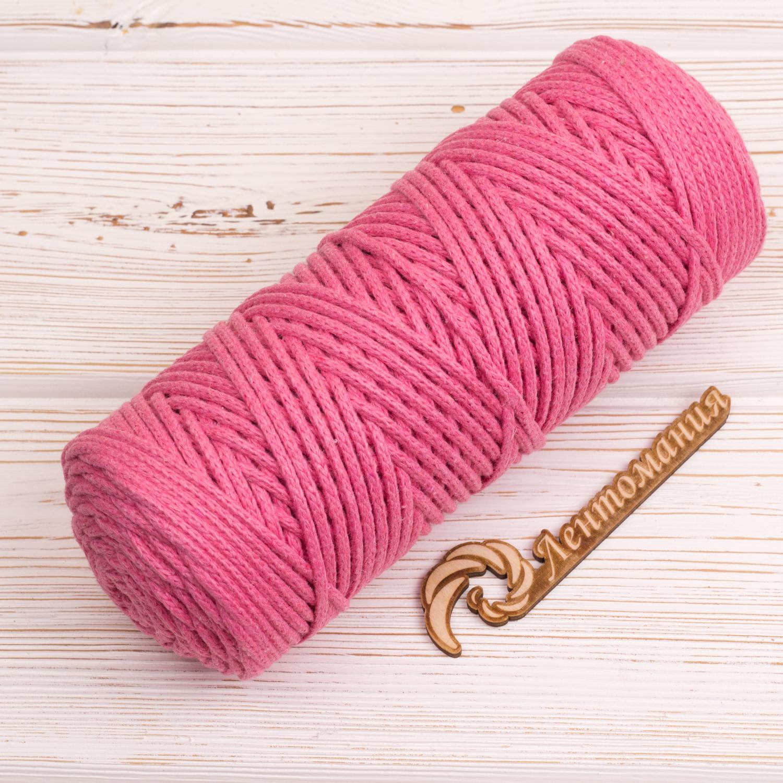 Хлопковый шнур Шнур 3мм Розовый IMG_4304.JPG