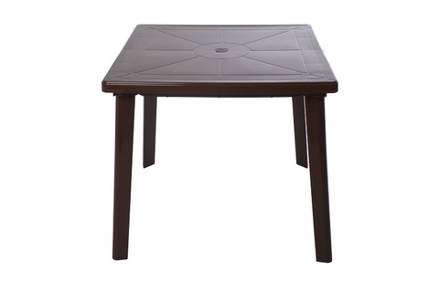 Стол квадратный. Цвет: Шоколад