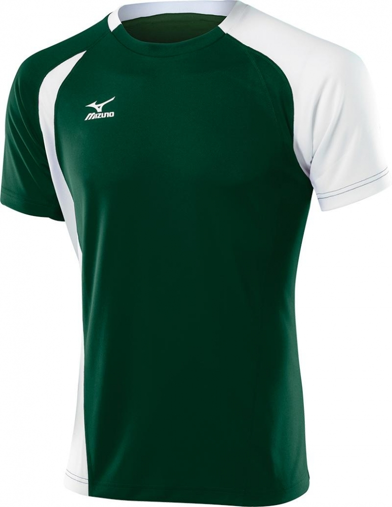 Мужская волейбольная футболка Mizuno Trade Top (59HV351M 33) зеленая