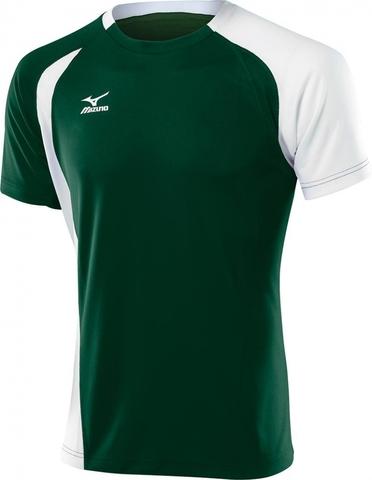 Футболка волейбольная Mizuno Trade Top мужская green