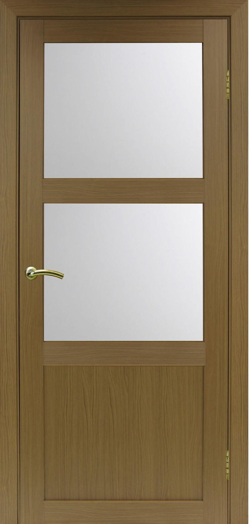 Турин 530 Орех классик NL ЭКО-шпон Остекление №221 Мателюкс, Двери OPTIMA PORTE