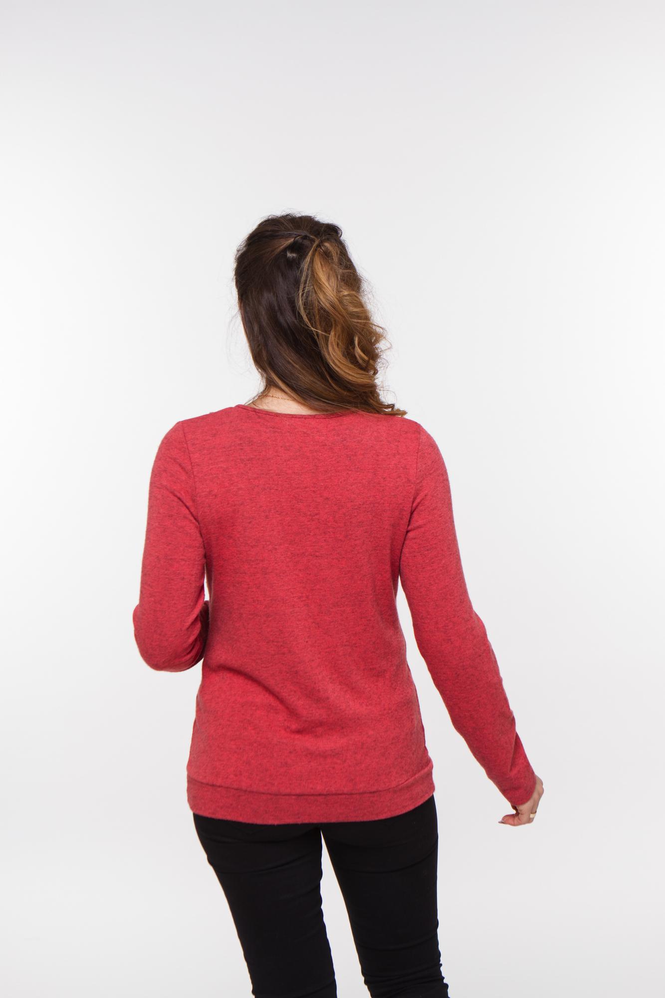 Блузка 01832 красный