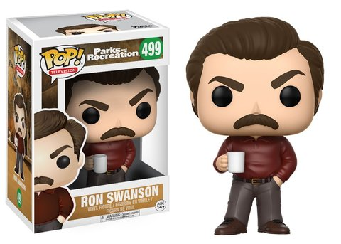 Ron Swanson (Parks and Recreation) Funko Pop! Vinyl Figure || Рон Свонсон