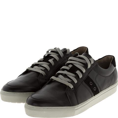 547308 полуботинки мужские черные (кеды). КупиРазмер — обувь больших размеров марки Делфино