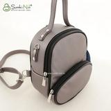 Рюкзак Саломея 1020 серый металлик
