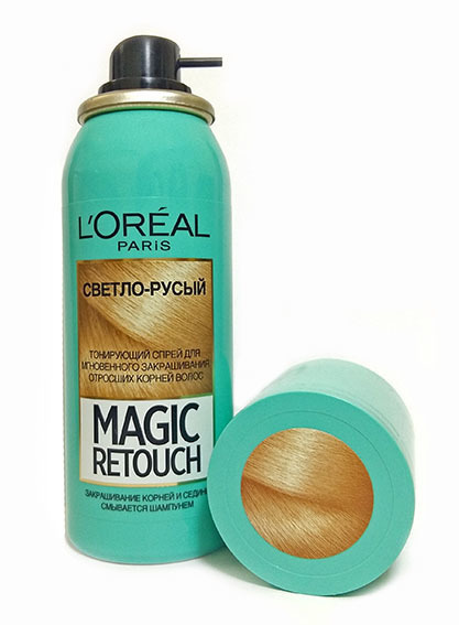 L'Oréal Magic Retouch светло-русый, 75 мл