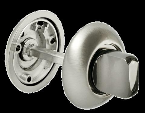 Фурнитура - Завёртка  Morelli MH-WC SN/BN, цвет белый никель/чёрный никель ЦАМ - (сплав, содержащий цинк, алюминий и медь) + многослойное гальваническое покрытие
