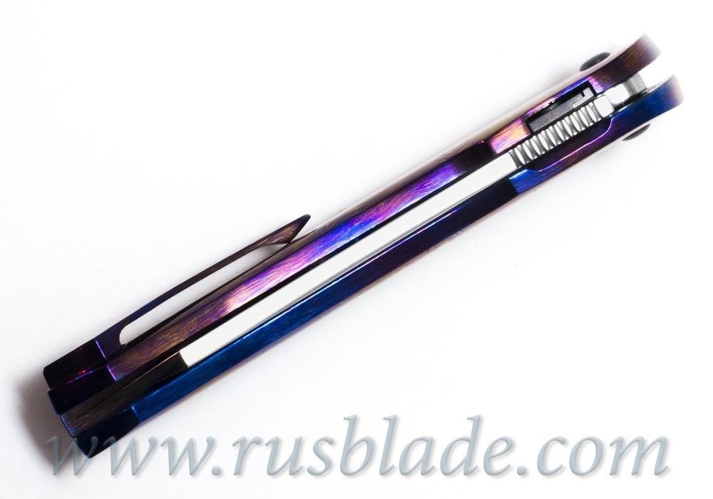 Cheburkov Full Custom Cobra Timascus Damascus knife