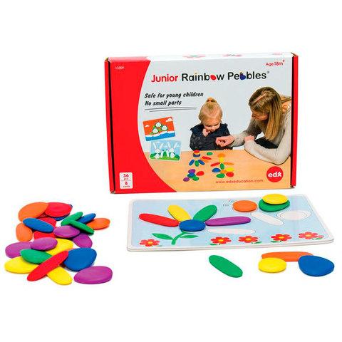 Радужные камешки, обучающий набор для индивидуальной работы, Edx education 13209