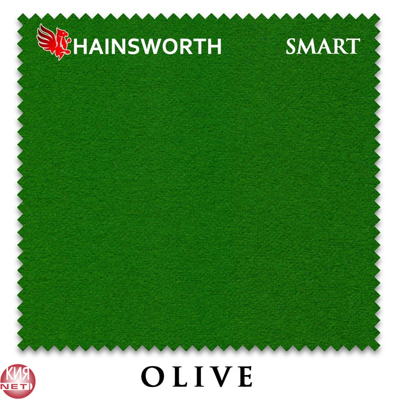 СУКНО HAINSWORTH SMART SNOOKER 195СМ OLIVE