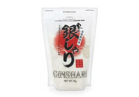 Рис шлифованный Ginshari, 1кг