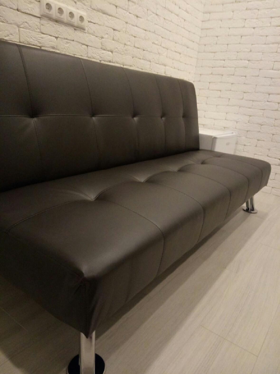 Диван-кровать DUPEN VALENCIA Коричневый