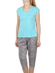 PT021505-02-8 пижама женская, бирюзовая