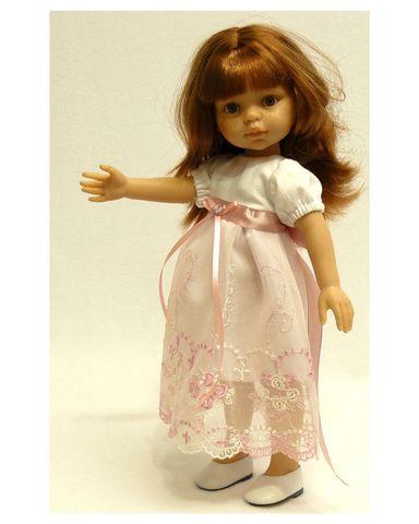 Платье кружевное - Детали. Одежда для кукол, пупсов и мягких игрушек.