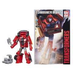 Робот - трансформер Делюкс  Айронхайд ( Ironhide) с Комиксом - Комбайнер Ворс, Hasbro