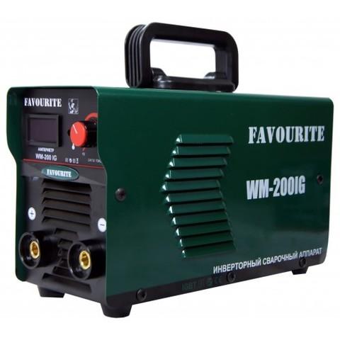 Сварочный инверторный аппарат  FAVOURITE WM-200IG