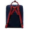 Рюкзак Fjallraven Kanken Classic Темно синий + Красный