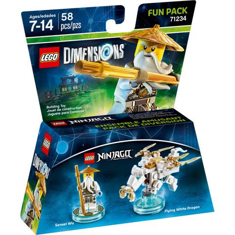 LEGO Dimensions: Fun Pack: Ниндзяго - Сенсей Ву 71234 — Sensei Wu — Лего Измерения