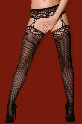 Чулки S 226 Garter Stockings Obsessive