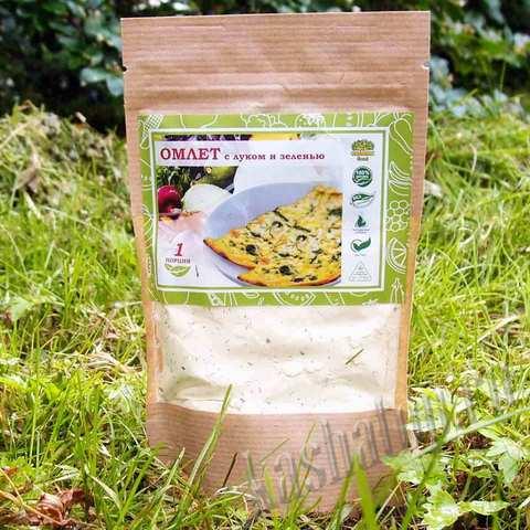 Омлет с луком и зеленью 'Organic food', 70г
