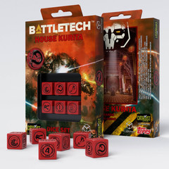 Battletech House Kurita D6 Dice set (6)