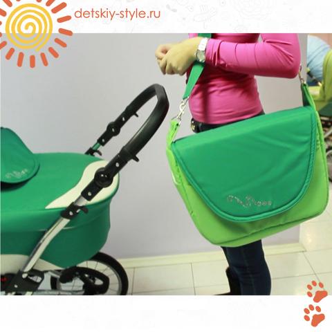 """Коляска Stroller B&E """"Maxima Brilliance"""" 2в1"""