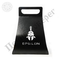 "Дровница Печной Оберег Элегант ""Эпсилон"" стальная, черная, 450х350х590 мм"
