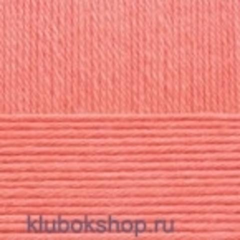 Пряжа Элегантная (Пехорка) 351 Светлый коралл - купить в интернет-магазине недорого klubokshop.ru