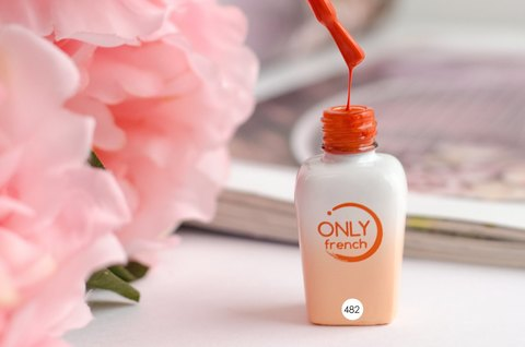 Гель-лак Only French, Orange Touch №482, 7ml