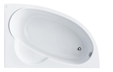 Акриловая ванна Santek Шри-Ланка 150х100 R асимметричная белая 1WH302395