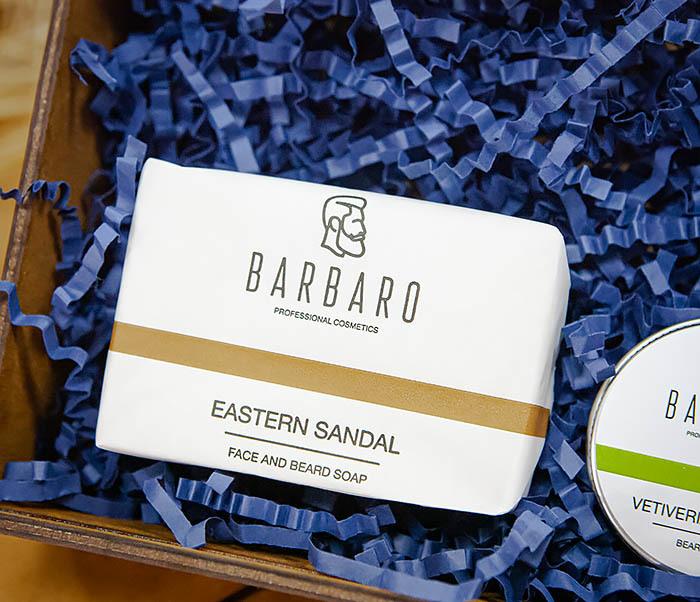 Набор для ухода за бородой с мылом и бальзамом Barbaro «Vetiveria Odorata» фото 02