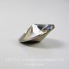 1122 Rivoli Ювелирные стразы Сваровски Crystal Silver Shade (14 мм)