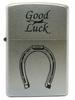 Зажигалка ZIPPO Horse Shoe Satin Chrome латунь/никель-хром (205 Horse Shoe)