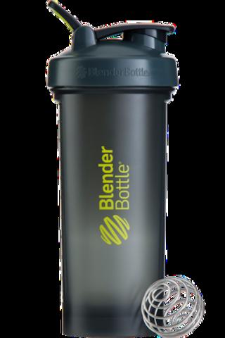 BlenderBottle Pro45,1330 мл Большой Шейкер с Шариком-Пружиной  серый-зеленый