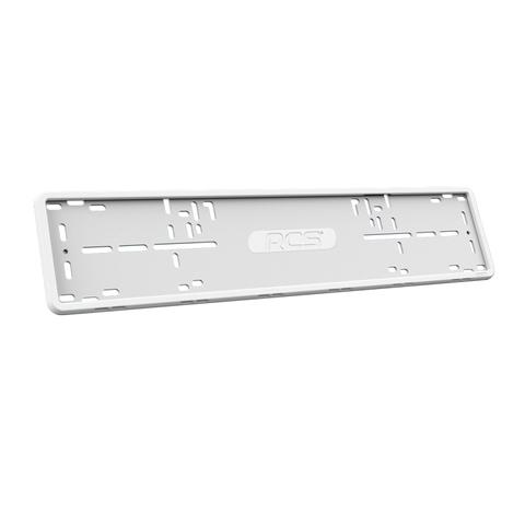 Рамка силиконовая для автомобиля- белая