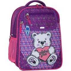 Рюкзак школьный Bagland Отличник 20 л. 339 фиолетовый 377 (0058070)