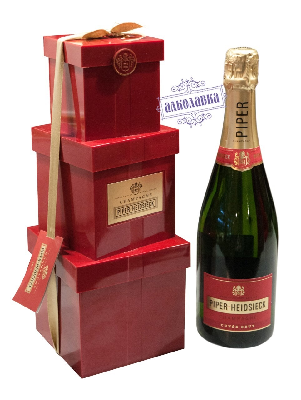 Шампанское Piper-Heidsieck, Brut gift box    0,75 л