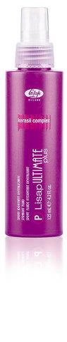 Ultimate Термо-спрей для укладки волос с эффектом выпрямления «P-LISAP ULTIMATE PLUS STRAIGHT FLUID» (125 мл)