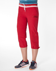 Ш17-15 шорты женские, красные