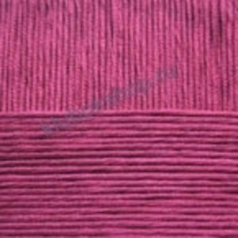 Пряжа Детская новинка (Пехорка) цвет 363 Светлая вишня