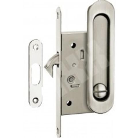 Фурнитура - Ручка Дверная для раздвижных дверей TIXX SDH-BK 501, цвет никель матовый  (гарантия - 12 месяцев)