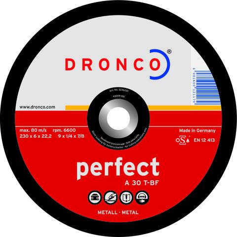 Шлифовальный диск Dronco A30T 100х6