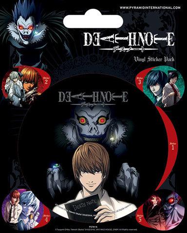 Набор стикеров Death Note