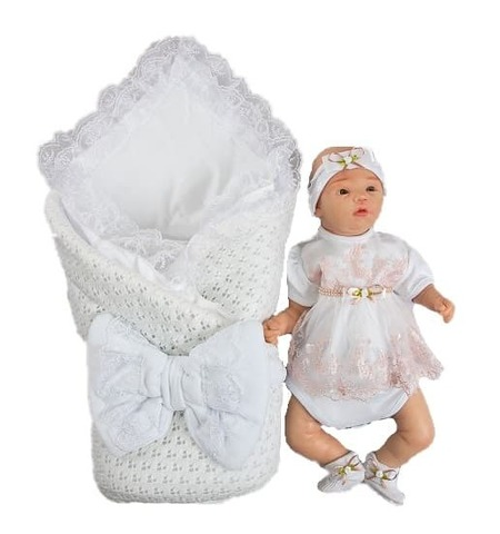 Комплект на выписку для новорожденных летом Ника