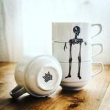 Набор из 4х чайных (кофейных) чашек  BoneCups